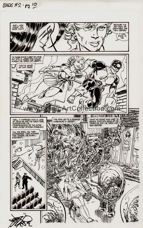 Babe #2 page 10 by John Byrne